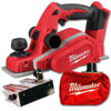 Milwaukee M18BP-0 18V Cordless Planer (Zero Tool)