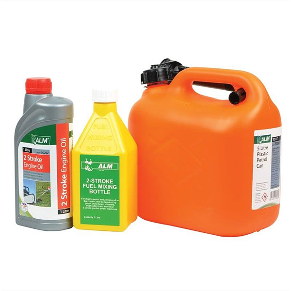 2 Stroke Mixing Kit (Petrol Container, Mixing Bottle & Oil)