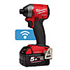 "Milwaukee Impact Driver Kit M18ONEID2-502X 1/4"" Hex ONE-KEY"