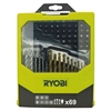 Ryobi RAK69MIX Drilling/Driving Bit Set (69 pcs)