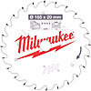 Milwaukee 4932471931 165mm 20B 24T TCT Circular Saw Blade