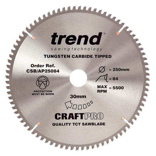 "Trend CSB/AP30096 300mm(11 7/8"") 30B 96T CRAFT SAW BLADE"
