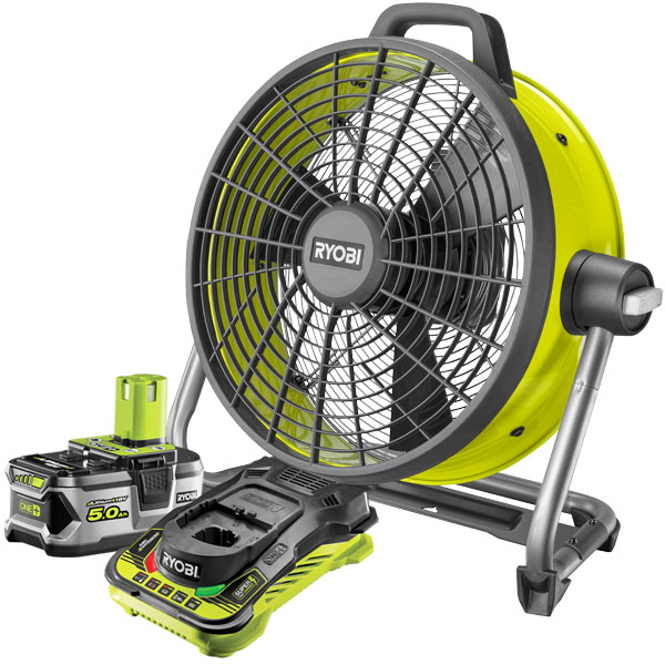 Ryobi ONE+ Floor Fan Starter Kit R18F5-150