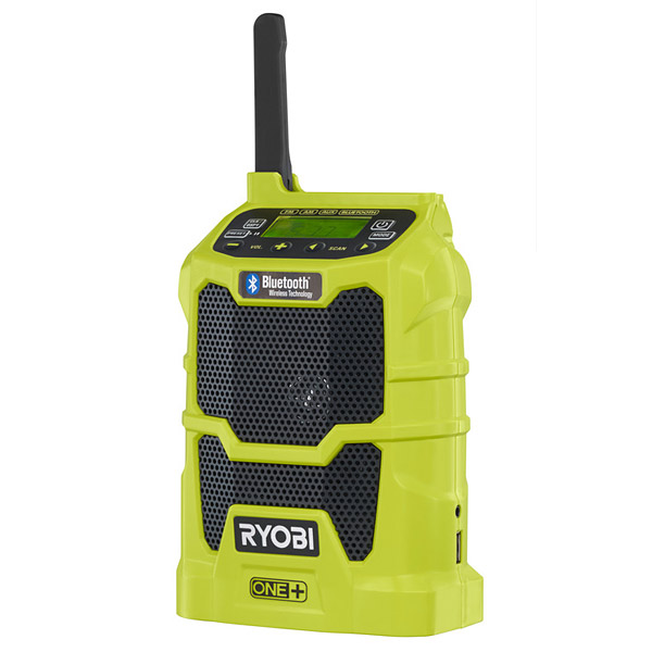 Ryobi R18R-0 18V ONE+ Cordless Bluetooth Radio Body Only