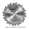 Trend 184mm 16mm Bore TCT Circular Saw Blade, 24 Tooth