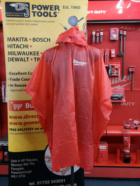 Official Milwaukee Poncho (One Size Only)