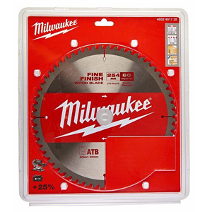 Milwaukee 4932451728 254mm Circular Saw Blade for Wood