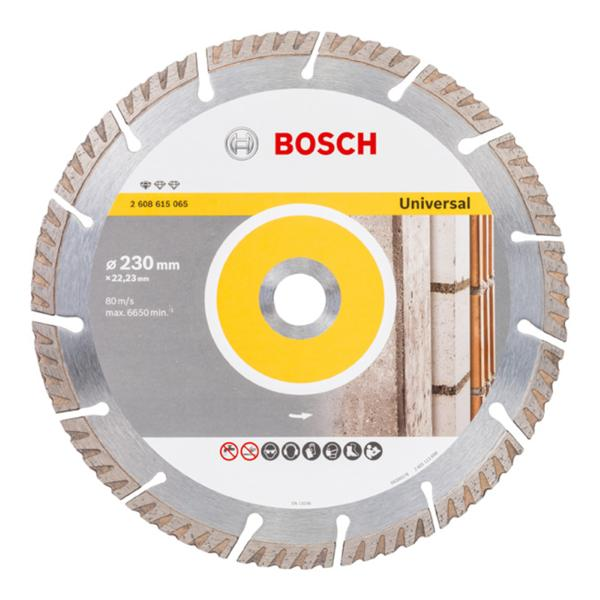 "Bosch 2608615065 230mm(9"") 22.23B DIAMOND BLADE"