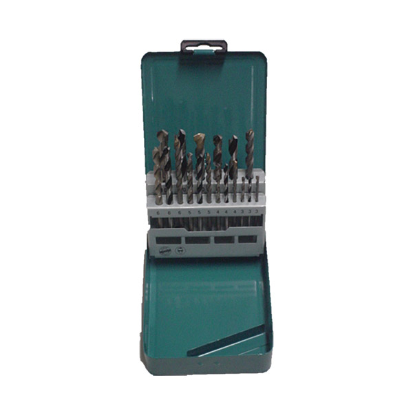 Makita D-47173 18PC Mixed Drill Set Metal Box