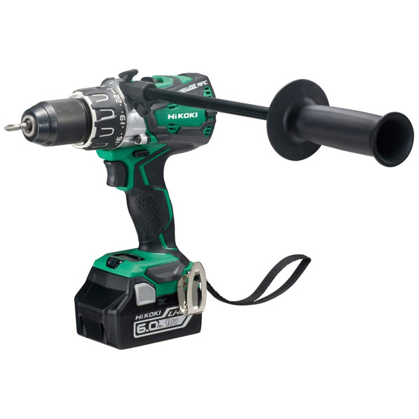 HiKOKI Brushless Combi Drill 6.0Ah Kit DV18DBXLJXZ 18V