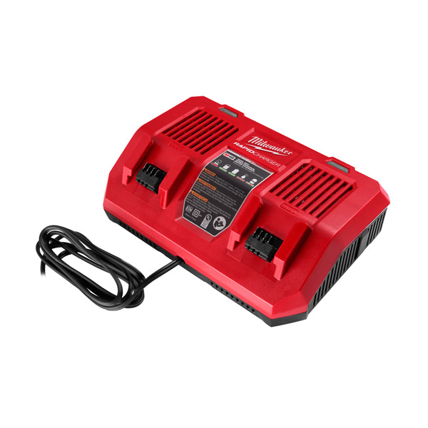 Milwaukee M18 Dual Bay Rapid Charger M18DFC