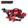 Milwaukee 18v Kit with 2 x 5.0Ah Batteries M18FPP3K-502B