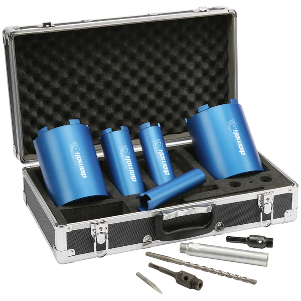 Makita P-74712 Diamak 10 Piece Dry Diamond Core Drill Set P74712