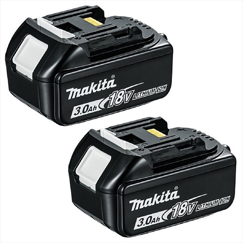 Makita BL1830 18v 3amp Lithium Battery Twin Pack