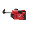 Milwaukee M12DE-0 M12 Universal Drill Mounted Dust Extractor (Body Only)