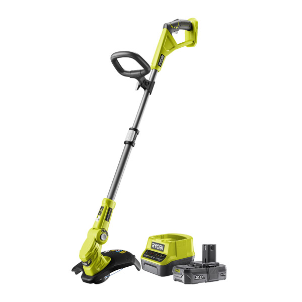 Ryobi 18v Line Trimmer Kit with 1 x 2.0Ah Battery, One+ OLT1832