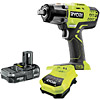 Ryobi Impact Wrench Starter Kit R18IW3-L13GKIT 18V ONE+ 3-Speed