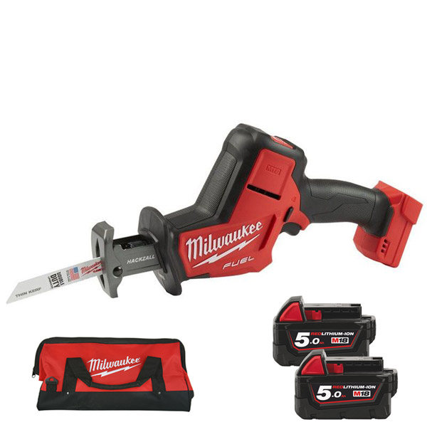 Milwaukee M18FHZ-502X FUEL 18V Cordless Hackzall (2 x 5.0Ah)