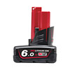 Milwaukee M12B6 M12 6.0Ah Red Lithium-Ion Battery