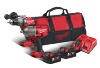 MILWAUKEE M18ONEPD AND M18ONEFHIWF TWIN KIT WITH 2 X 5Ah BATTERIES