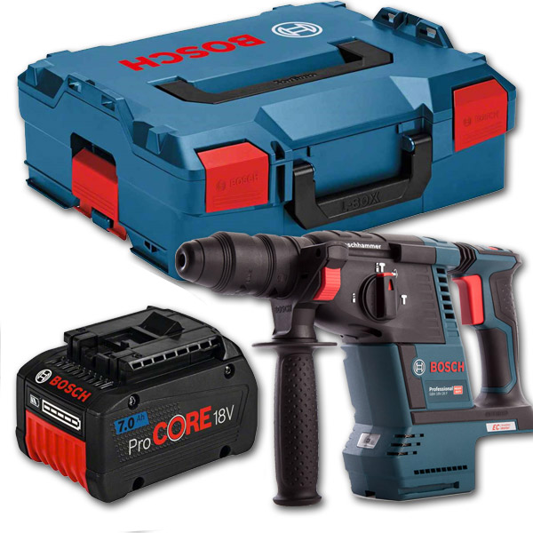 Bosch GBH18V-26F 18v SDS Drill w/ 7.0Ah Battery & Case