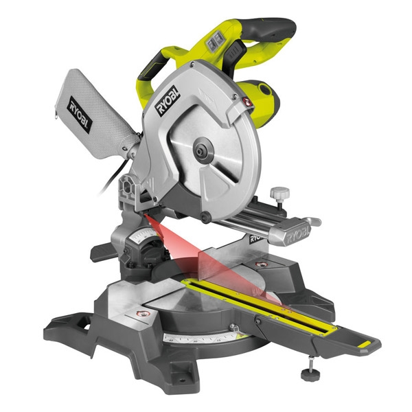 Ryobi Compound Slide Mitre Saw EMS254L 254mm