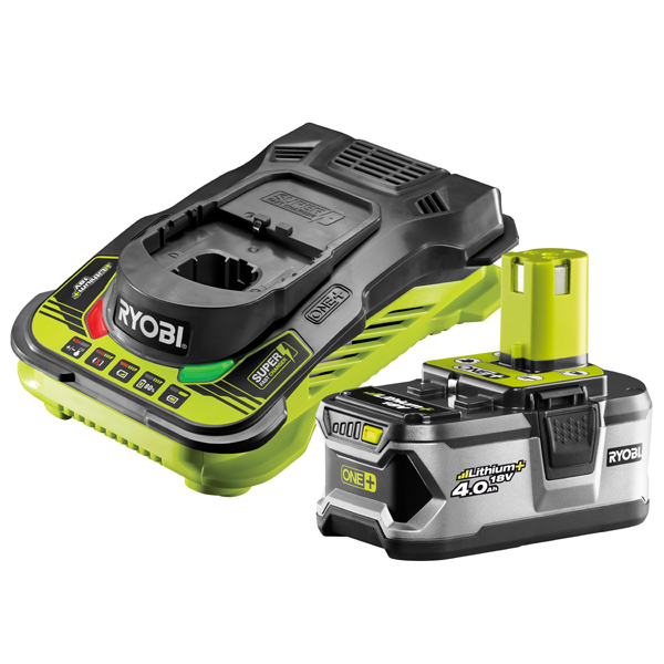 Ryobi RBC18L40/1 18V ONE+ 4.0Ah Battery and Charger Kit