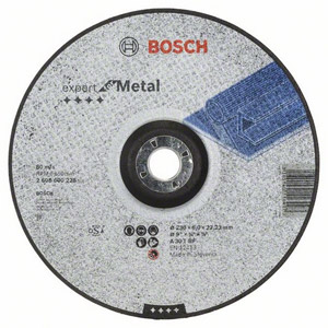 Bosch 2608600228 230mm Metal Grinding Disc
