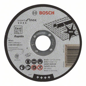 Bosch 2608600545 115mm x 1mm Metal Cutting Disc