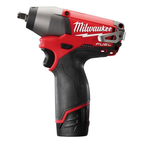 "Milwaukee M12BIW12-0 1/2"" Comp Impact Wrench (Zero Tool)"