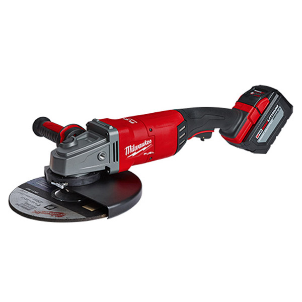 Milwaukee M18FLAG230XPDB-121C Large 228mm Angle Grinder w/ 1 x 12.0Ah Battery- In Store Only
