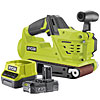 Ryobi 18v Belt Sander Kit One Plus R18BS C/W RC18120-120