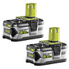 Ryobi RB18L50/2 18V ONE+ 5.0Ah Battery Twin Pack