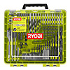 Ryobi 100 Piece Drill & Driving Set In Grip Case RAKDD100