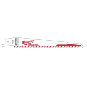 Milwaukee 48005035 Sawzall Blades 150x5 TPI Demolition
