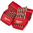 Milwaukee THUNDERWEB HSS-G Drill Bit Set (19 piece) 4932352374