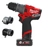 Milwaukee M12FPDXKIT-602X FUEL 12V 6-in-1 Cordless Percussion Drill (2 x 6.0Ah)
