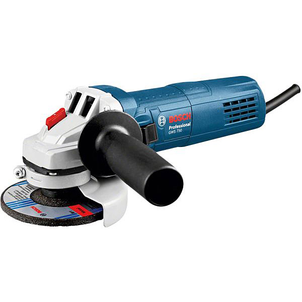 Bosch GWS750 115MM 4.5 inch Professional Corded Angle Grinder 240V
