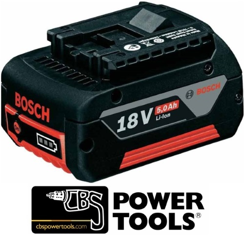 Bosch 18v 5Ah Lithium Ion Battery 1600A002U5