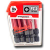 Milwaukee 4932430866 Shockwave 10 Piece PZ2 50mm Screwdriver Bits