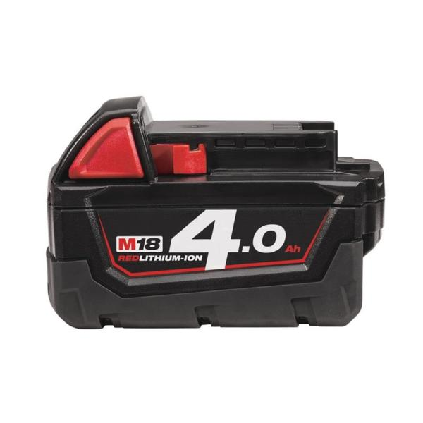 Milwaukee M18B4 4.0Ah Red Lithium-Ion Battery