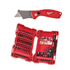 Milwaukee Shockwave 40 Piece Drill & Driver Bit Set & Knife