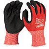 Milwaukee Dipped Gloves Cut Level 1 XL/10 4932471418