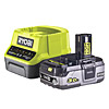 Ryobi 3.0Ah Battery and Charger Kit RC18120-130 18V ONE+