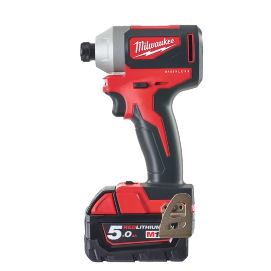 Milwaukee M18BLID2-502X 18v Impact Driver Kit with 2 x 5Ah Batteries