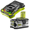 Ryobi RB18L50 Battery & RC18150 Super Charger Kit