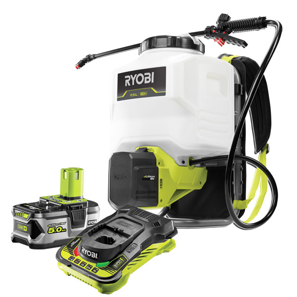 Ryobi ONE+ Backpack Sprayer Starter Kit RY18BPSA-150