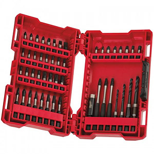 Milwaukee 4932430906 Shockwave Drill & Driver Set 48-Piece