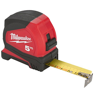 Milwaukee 4932459595 Milwaukee 5m Pro Compact Tape Measure