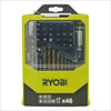 Ryobi RAK46MIX 46 Piece Mixed Drill and Screwdriver Bit Set